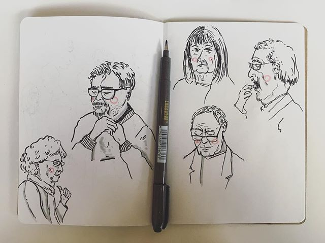 Saturday sketches 🌈✍🏻 . . . . . . . . . . . . . . #cheekypeople #art #drawingpeople #illustrator #quickstudy #quicksketch #sketchbook #sketchbookproject #usk #urbansketchers #portrait #artistsoninstagram #sketch_dailydose #art_empire #hkig #hongkongartist #kunst #wip #workinprogress #sbpprocess #brushpen #tombow #lifesketch #art_overnight #lifedrawing