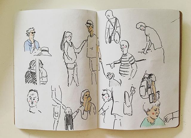 Earth day observations at Somerset House 🌏💚✨ . . . . . . . . . . #cheekypeople #art #drawingpeople #illustrator #quickstudy #quicksketch #sketchbook #sketchbookproject #usk #urbansketchers #portrait #artistsoninstagram #sketch_dailydose #art_empire #hkig #hongkongartist #kunst #wip #workinprogress #sbpprocess #brushpen #tombow #lifesketch #art_overnight #lifedrawing #繪畫 #sundayfunday #weekendvibes #londonist #sketch_onn