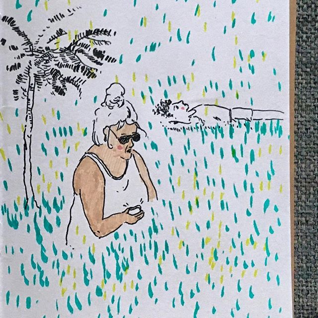 Summertime 🌞🌞🌞 . . . . . . . . #cheekypeople #art #drawingpeople #illustrator #quickstudy #quicksketch #sketchbook #sketchbookproject #usk #urbansketchers #portrait #artistsoninstagram #sketch_dailydose #art_empire #hkig #hongkongartist #kunst #wip #workinprogress #sbpprocess #brushpen #tombow #lifesketch #art_overnight #lifedrawing #繪畫 #sundayfunday #weekendvibes #londonist #sketch_onn