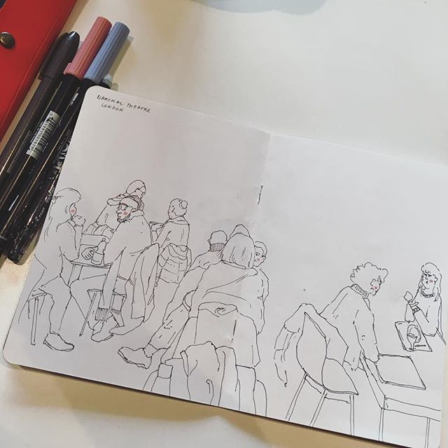 ✍🏻✍🏻. . . . . . . . #cheekypeople #art #drawingpeople #illustrator #quickstudy #quicksketch #sketchbook #sketchbookproject #usk #urbansketchers #portrait #artistsoninstagram #sketch_dailydose #art_empire #hkig #hongkongartist #kunst #wip #workinprogress #sbpprocess #brushpen #tombow